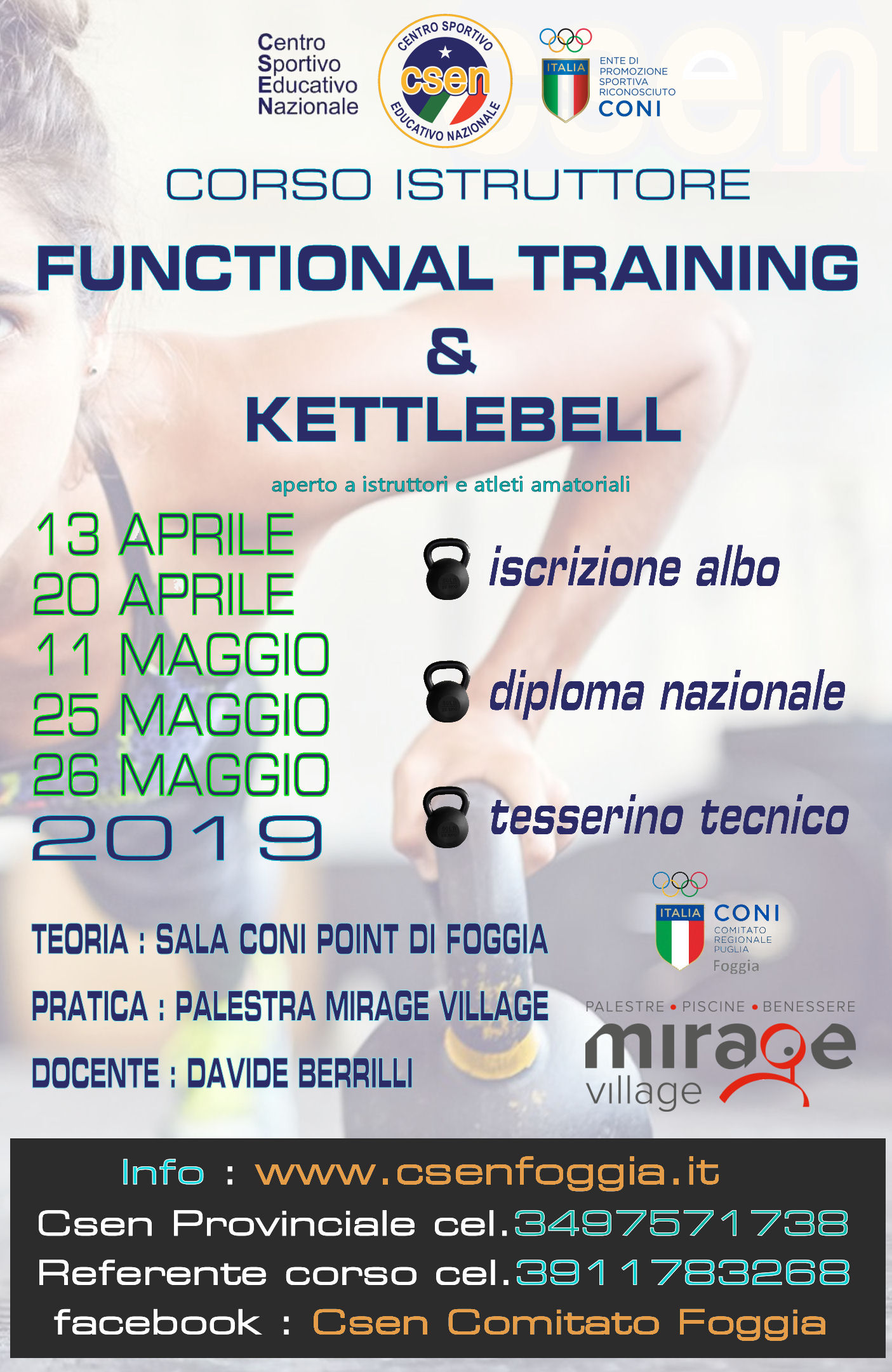 Corso istruttore Functional Training
