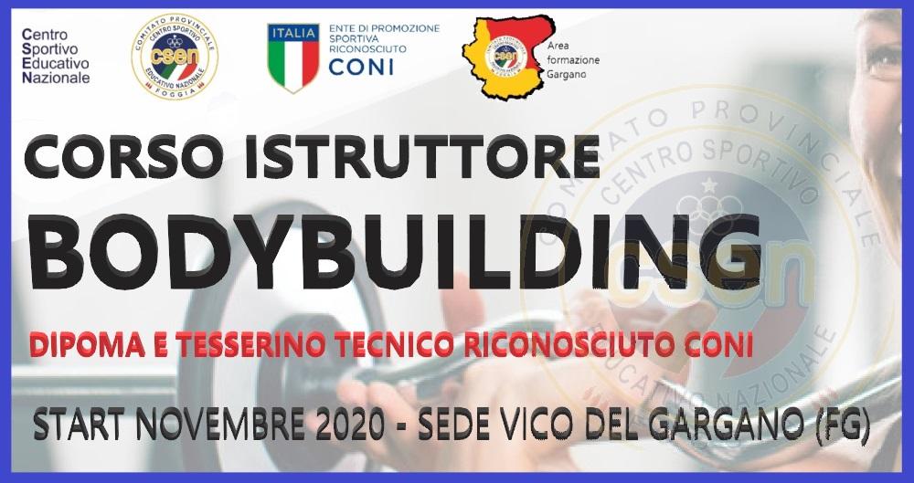 Corso Istruttori Bodybuilding – Gargano